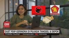 VIDEO: Duet PDIP-Gerindra di Pilkada Tangsel & Depok