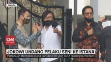 VIDEO: Jokowi Undang Pelaku Seni dan Influencer ke Istana