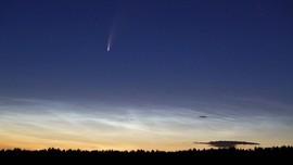 Pecahan Komet Halley Terangi Langit Malam Hingga Mei