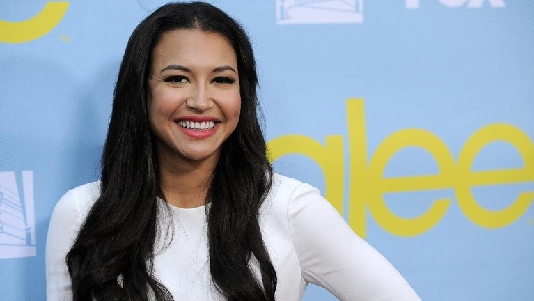 FILE - Naya Rivera, a cast member in the television series