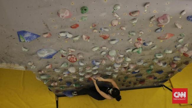 Foto Panjat Dinding Di Mal Alternatif Olahraga Kala Pandemi