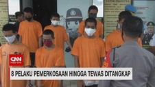 VIDEO: 8 Pelaku Pemerkosaan Hingga Tewas di Tangsel Ditangkap