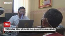 VIDEO: Tersangka Pencabulan Rumah Aman Serahkan Diri