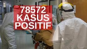 VIDEO: 78.572 Kasus Positif Covid-19 di Indonesia