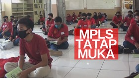 VIDEO: Meski Dilarang, Ada Sekolah Melakukan MPLS Tatap Muka
