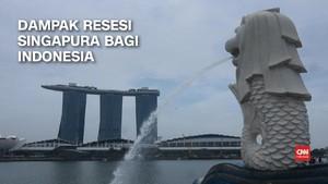 VIDEO: Dampak Resesi Singapura Bagi RI, Batam Paling Terpukul