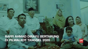 VIDEO: Raffi Ahmad Dirayu Ikut Pilwalkot Tangsel 2020