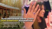 VIDEO: Pamer Cincin, Aurel-Atta Halilintar Bertunangan