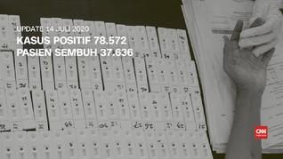 VIDEO: 14 Juli, Total Kasus Positif 78.572