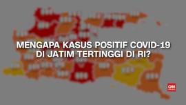 VIDEO: Penyebab Tingginya Kasus Positif Covid-19 di Jatim