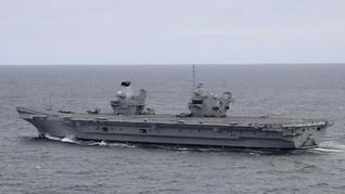 Kapal Induk Inggris Siap Gabung AS dan Jepang Lawan China