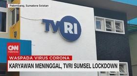VIDEO: Karyawan Meninggal, TVRI Sumsel Lockdown