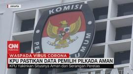 VIDEO: KPU Pastikan Data Pemilih Pilkada Aman
