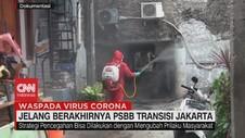 VIDEO: Jelang Berakhirnya PSBB Transisi Jakarta
