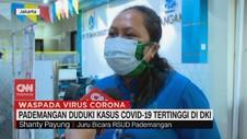 VIDEO: Pademangan Duduki Kasus Covid-19 Tertinggi di DKI