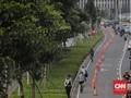 DKI Lebarkan Jalur Sepeda Sudirman-Thamrin Akhir Pekan Ini
