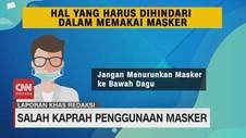 VIDEO: Salah Kaprah Penggunaan Masker