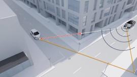 Teknologi Mobil Pintar, Baca Objek Tak Terlihat di Tikungan