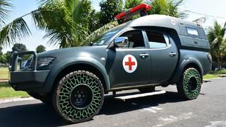 Membaca Kans TNI Rancang Ban Tanpa Udara buat Mobil Pribadi