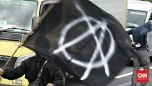 Polisi Tangkap 2 Terduga Anarko Ingin Gabung Demo Omnibus Law