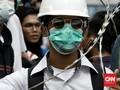 Aksi Tolak RUU Ciptaker Ricuh di Makassar, 37 Orang Ditangkap