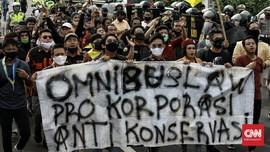 Serikat Buruh Kekeh Tolak Pengesahan RUU Omnibus Law Ciptaker