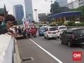 Demo Tolak RUU HIP Disekat, Massa Merangsek Masuk Tol