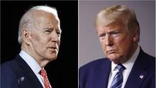 Debat Pilpres AS Dimulai, Trump-Biden Kompak Tak Pakai Masker