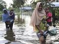 Banjir Aceh Selatan Meluas ke 17 Desa, 3.985 Orang Terimbas