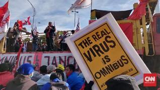 Omnibus Law, Buruh Anggap Pemerintah Penghamba Kaum Modal