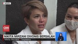 VIDEO: Nikita Mirzani Divonis Bersalah dengan Pidana 6 Bulan