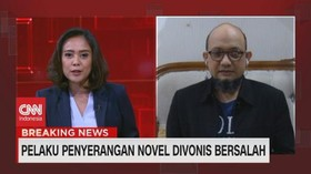 VIDEO: Novel Baswedan: Persidangan Ini Persidangan Sandiwara