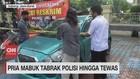 VIDEO: Pria Mabuk Tabrak Polisi Hingga Tewas