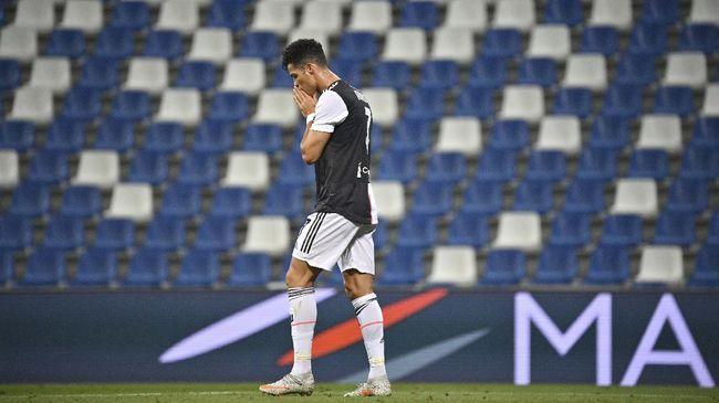 Cristiano Ronaldo kemungkinan besar tidak tampil pada laga terakhir Juventus di Liga Italia sekaligus memupuskan ambisi menjadi top skor.