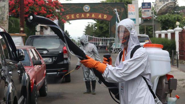 KASAD: Pasien Virus Corona di Secapa TNI Tinggal 840 Orang