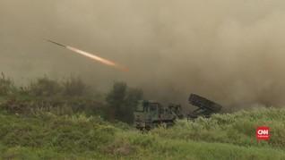 VIDEO: Laut China Selatan Memanas, Taiwan Latihan Perang