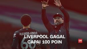 VIDEO: Ambisi 100 Poin Liverpool Hancur