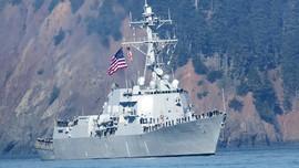 Kapal Perang AS Kembali Masuki Perairan Diklaim Venezuela