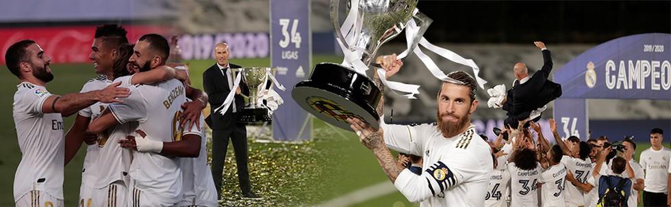 Real Madrid Juara Liga Spanyol