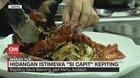 VIDEO: Hidangan Istimewa 'Si Capit' Kepiting