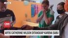 VIDEO: Detik-detik Catherine Wilson Ditangkap Karena Sabu