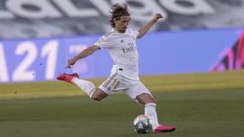 Masa Depan Luka Modric di Real Madrid Belum Jelas