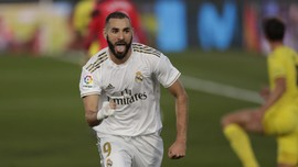 Man City vs Real Madrid, Benzema Lagi Panas
