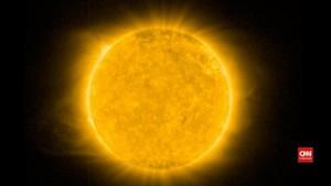 NASA Temukan Struktur Helium di Atmosfer Matahari