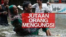 VIDEO: Banjir & Longsor Landa India Dan Bangladesh
