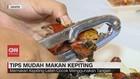 VIDEO: Tips Mudah Makan Kepiting