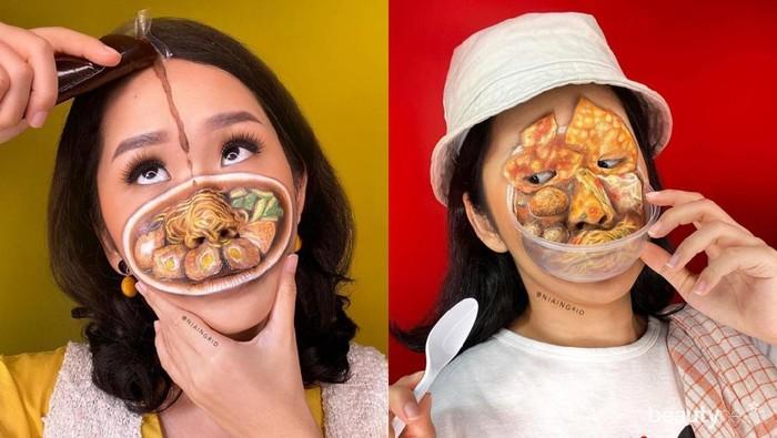 8 Makeup Look Terinspirasi dari Makanan ala MUA Nia Ingrid, Kreatif Banget!