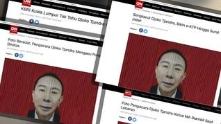 Sakit di Malaysia, Djoko Tjandra Minta Sidang PK Virtual