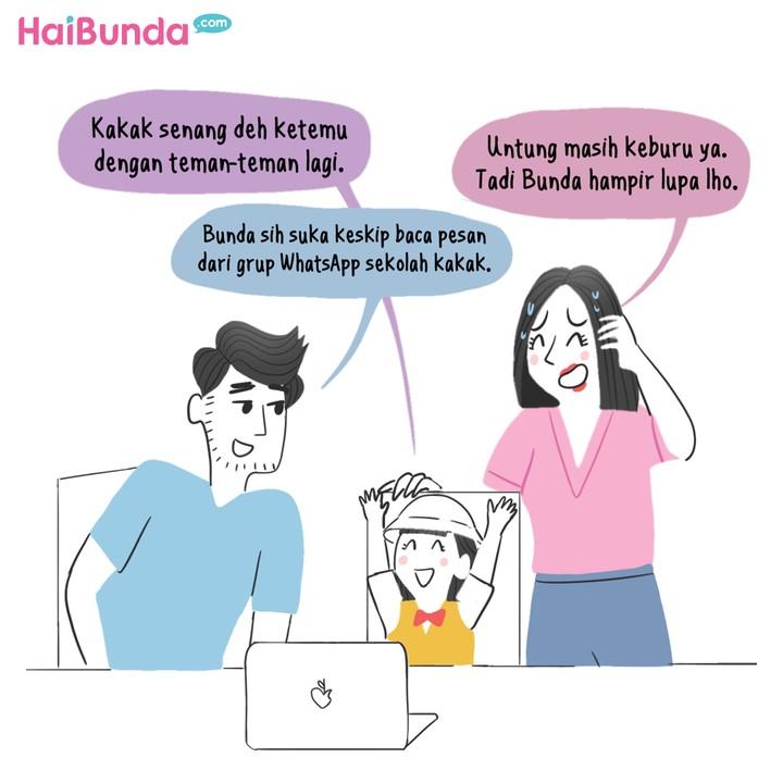 Komik Sekolah Online Lagi