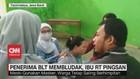VIDEO: Penerima BLT Membludak, Ibu RT Pingsan